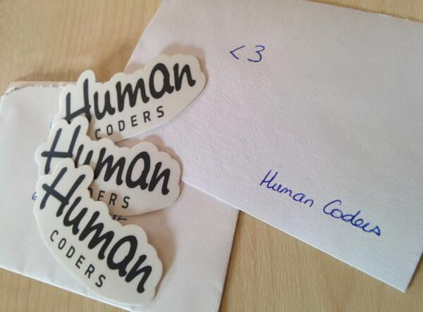 Stickers Human Coders