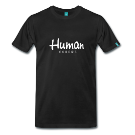 T-shirt Human Coders