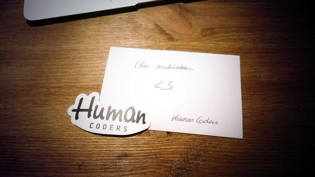 Autocollants Human Coders