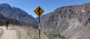 Matthieu en rando au Pérou