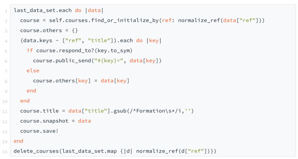 scraping données